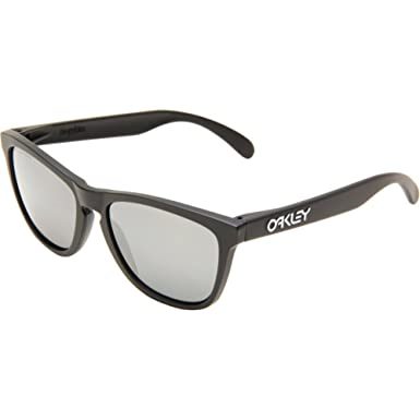 621f50182a Oakley Mirrored Square Men's Sunglasses - (0OO901324-29755|55|Black Iridium  Polarized
