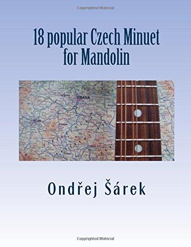 18 popular Czech Minuet for Mandolin PDF