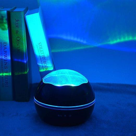 GAK Baby Projector Night Light 2 en 1 LED Starry & Ocean Wave ...