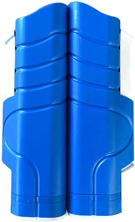Red de tenis de mesa retráctil Difan para mesa de comedor, escritorio, hogar, cocina, Azul y blanco.