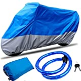 CARSUN Motorcycle Cover All Season Two-color Design...