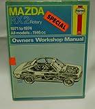 Haynes Mazda Rx2 Rotary Owners Workshop Manual, 1971-1975, Haynes, J. H. and Larminie, J. C., 0856961094