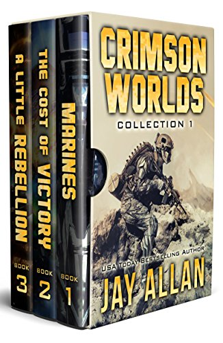 Crimson Worlds Collection 1: Crimson Worlds Books 1-3 (Crimson Worlds Collections) (Jay Allen Kindle Books)