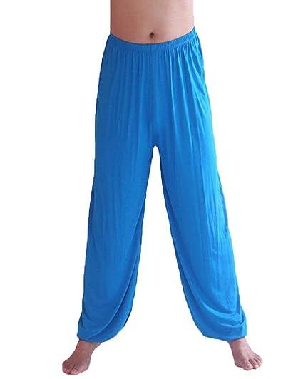 Kasonj Pantalones de Yoga Pilates súper Suaves para Hombres ...