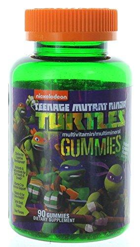 Teenage Mutant Ninja Turtles Gummy Multi-Vitamins, 90 Cou...