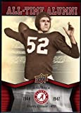 Football NFL 2012 Upper Deck University of Alabama All Time Alumni #ATAHG Harry Gilmer