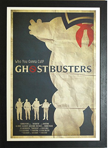 - Memory Box Ghostbusters Vintage Poster Movie Homage/Tribute Artwork Open Edition Framed Poster Ghost Busters