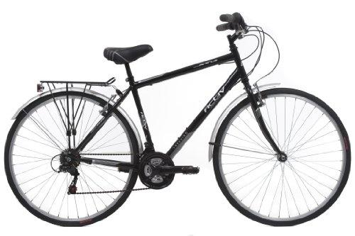 Activ By Raleigh Mens Hybrid City Bike Black 28 Inch Wheel 19