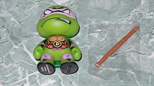 """Kidrobot Teenage Mutant Ninja Turtles Series 2 TMNT Shell Shock Donatello 3"""" Vinyl Figure 2/20"""