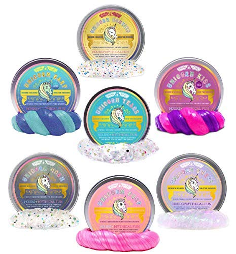 1c3c85aa512 Amazon.com  Mythical Slyme s Magical Unicorn Slime and Putty - Clear ...