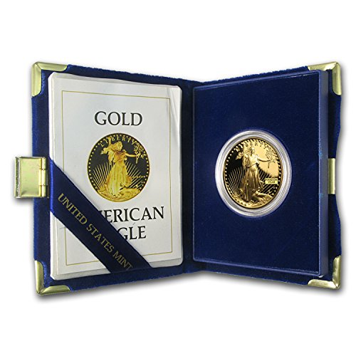 (1986 W - Present 1 oz Proof Gold American Eagle (Random Year, w/Box & COA) 1 OZ Brilliant Uncirculated)