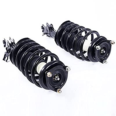 Pair Front Complete Strut Coil Spring Assembly fit for 2002 2003 2004 2005 2006 Nissan Sentra 172105-172106: Automotive
