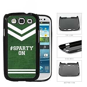 Hashtag Sparty On School Spirit Slogan Chant Samsung Galaxy S3 I9300 Hard Snap on Plastic Cell Phone Cover WANGJING JINDA