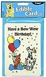 Crunchkins Edible Crunch Card, Bow Wow Birthday For Sale