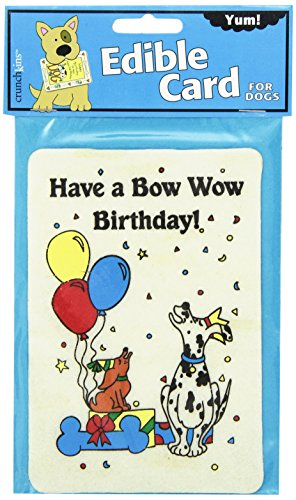 Bow Wow Birthday - Crunchkins Edible Crunch Card, Bow Wow Birthday