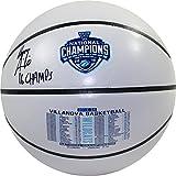 Steiner Sports Ryan Arcidiacono Signed Villanova 2016 NCAA Champions White Panel Basketball w/ ''2016 NCAA Champs'' Insc