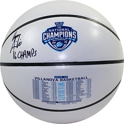 "Steiner Sports Ryan Arcidiacono Signed Villanova 2016 NCAA Champions White Panel Basketball w/ ""2016 NCAA Champs"" Insc"