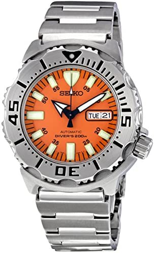 Amazon | セイコー Seiko Men's SKX781 Orange Monster Automatic Dive Watch 女性  レディース 腕時計 【並行輸入品】 | レディース腕時計 | 腕時計 通販