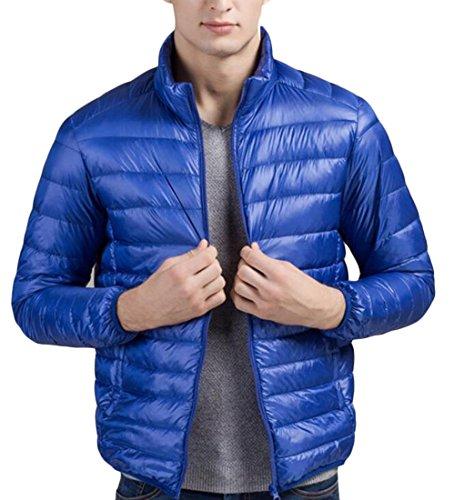 M&S&W Men's Lightweight Puffer Packable Down Jacket Coat 1