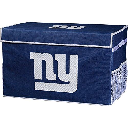 Franklin Sports NFL New York Giants Collapsible Storage Footlocker Bins - ()