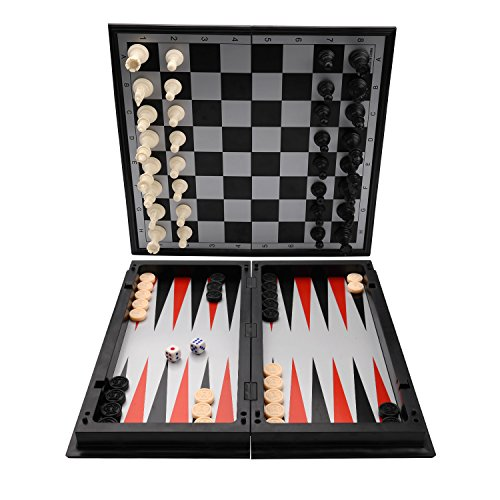 Magnetic Chess Set, KAILE Travel Magnet Chess with Folding Case Instructions Magnetic Chess for Kids Adults by KAILE (Image #2)
