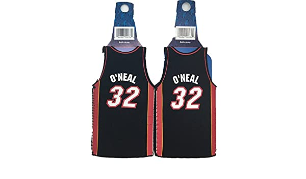 Amazon.com : NBA Shaquille ONeal #32 Miami Heat Throwback Jersey Bottle Cooler 2-pack : Sports & Outdoors