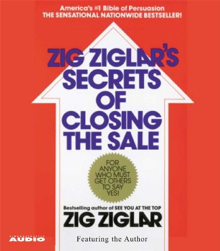 The Secrets of Closing the Sale by Simon & Schuster Audio