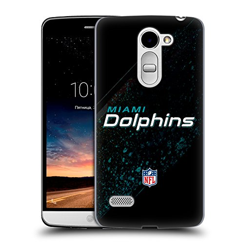Official NFL Blur Miami Dolphins Logo Hard Back Case for LG Ray / Zone