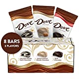 DOVE Chocolate Bars Full Size Variety Mix, 3.30-Ounce Bars 8-Count Gift Box