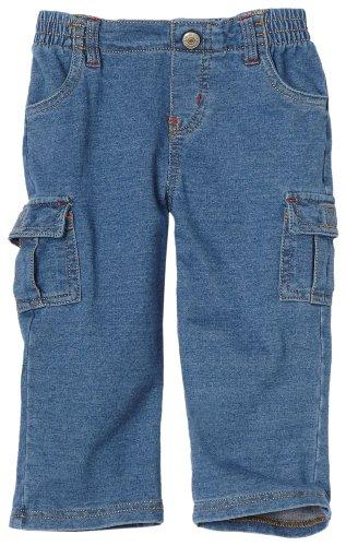 Levi's Baby Boys' 4275 Cargo Knit Pant, Medium Wash, 12 Months