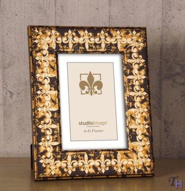 Fleur De Lis Pictures (5x7 Fluer De Lis Molding Picture Frame)