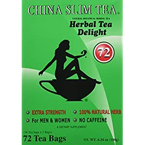 China Slim Tea Extra Strength For Men and Women 72 Tea Bags 51M4 2BSpy00L