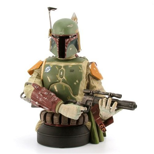 Star Wars Boba Fett Deluxe Mini Bust, SDCC 2013 Exclusive - Exclusive Mini Bust