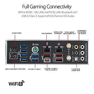 ASUS ROG Maximus XII Formula Z490 (WiFi 6) LGA 1200 (Intel 10th Gen) ATX Gaming Motherboard (16 Power Stages, EK…