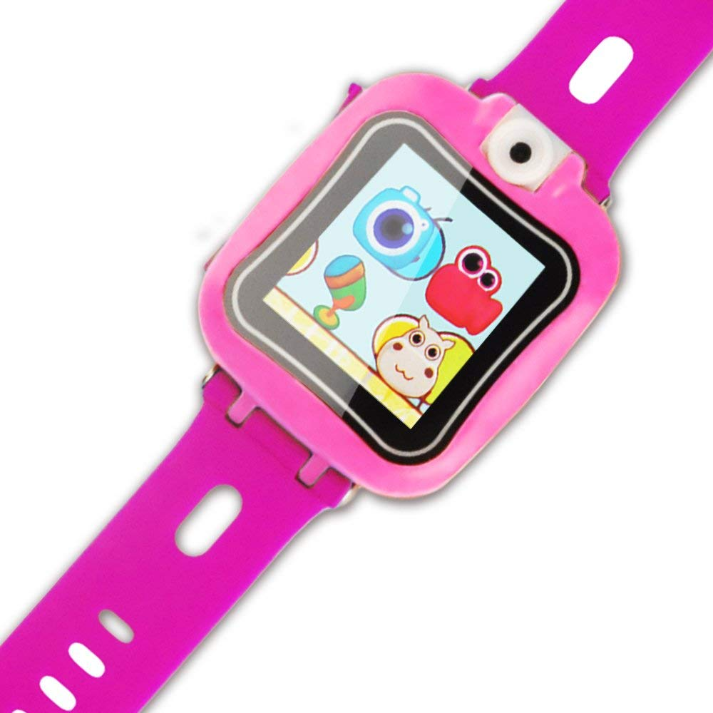 IREALIST Kids Smartwatch, Touchscreen Smart Watch with 90°Rotating Camera, Support Take Photos, Play Games, Video/Sound Recording,Timer, Alarm Clock by IREALIST (Image #6)