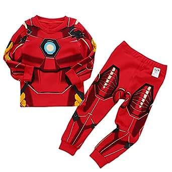 a576dfb6f CDREAM Iron Man Pijamas Conjunto Algodón Pantalones De Pijama Ropa ...