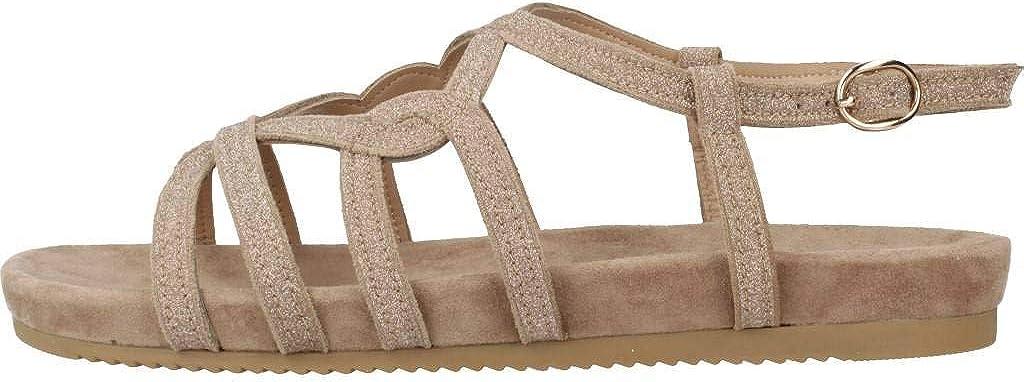 Alma en Pena Sandalia Confort Beige EFICAZ para Mujer V20856: Amazon.es: Zapatos y complementos