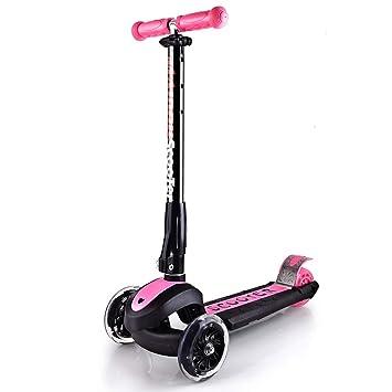 WYFDM Scooter, 3 Ruedas Micro Mini Kick Scooter con Asiento ...