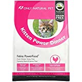 Only Natural Pet Natural Dry Cat Food, Holistic Kitten Power Dinner Feline PowerFood – 4.5 lb Bag Chicken & Turkey Blend For Sale