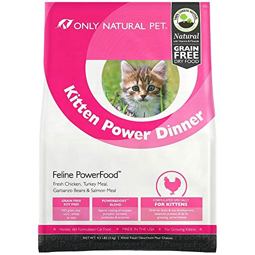Only Natural Pet Natural Dry Cat Food, Holistic Kitten Po...