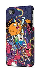 LJF phone case S0964 Adventure Time Case Cover For iphone 5/5s