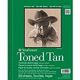(US) Strathmore 400 Series Toned Tan Sketch Pad, 9
