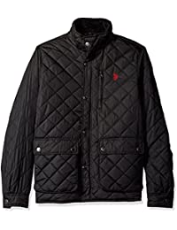 Men's Diamond-Quilted Jacket