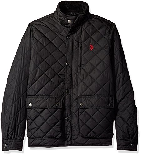 U.S. Polo Assn. Men's Diamond-Quilted Jacket – DiZiSports Store