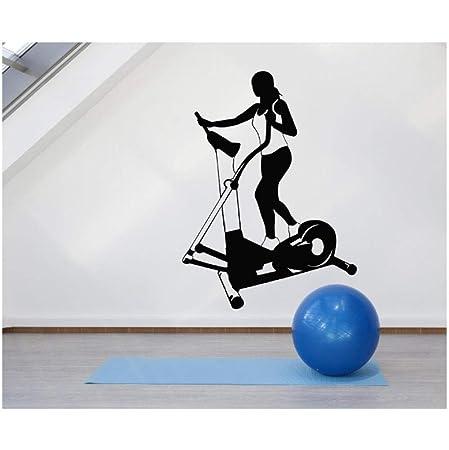Vinilo Tatuajes de pared Fitness Mujer Cinta de correr Deportes ...
