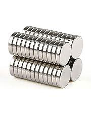 BESTPICKS 50 pcs 5 x 1 mm Craft Neodymium Super Strong Magnet