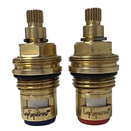 Rangemaster Quadrant Kitchen Tap Replacement Valve Pair Cartridges Spares