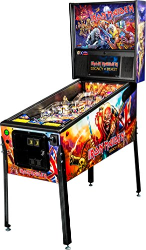 Stern Pinball Iron Maiden Legacy of the Beast Arcade Pinball Machine, Pro Edition