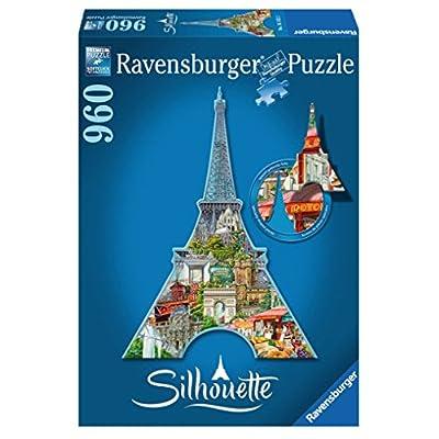 Ravensburger 16152 Tour Eiffel Parigi Puzzle Silhouette