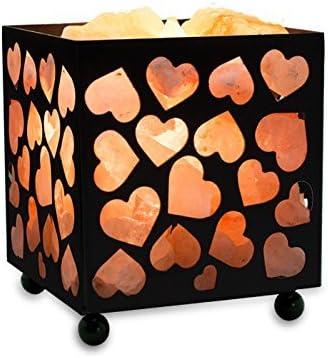 ejemplo de lampara cubica de corazones